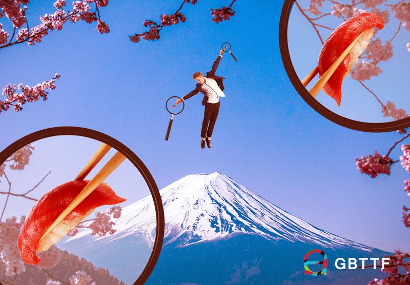 空飛ぶ寿司