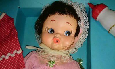 ミルクのみ人形