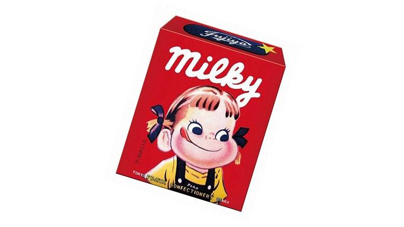 ミルキー 昔