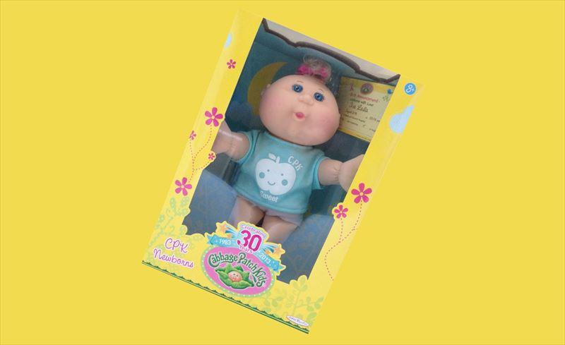 キャベツ畑人形
