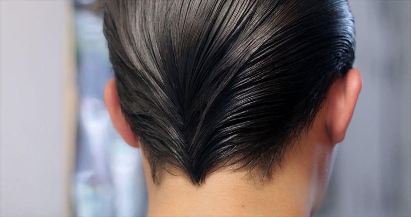 ダックテール 髪型