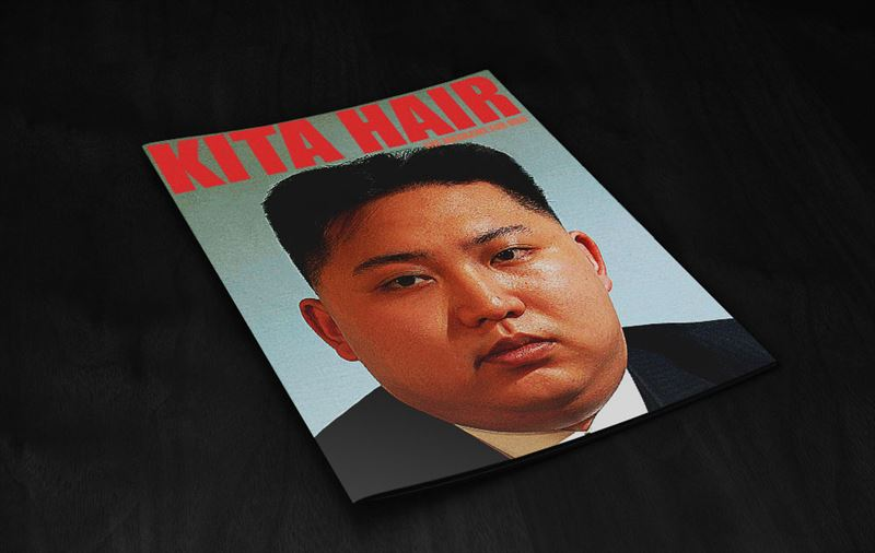 北朝鮮 髪型