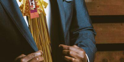 しめ飾り ネクタイ